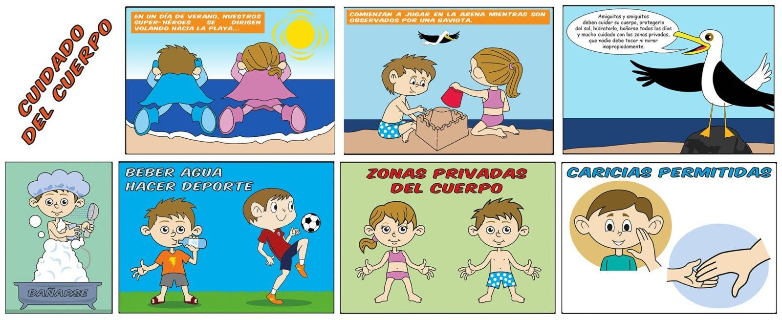Comic Superhéroes Psicoeducación 2015-2018